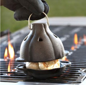 A Need or A Want? A Cast Iron Garlic Roaster