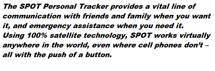 SPOT Personal Tracker Giveaway - OnceAMomAlwaysAMom.com