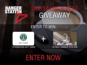 Time Saving Bundle - HangerStation Starbucks Giveaway | OnceAMomAlwaysAMom.com