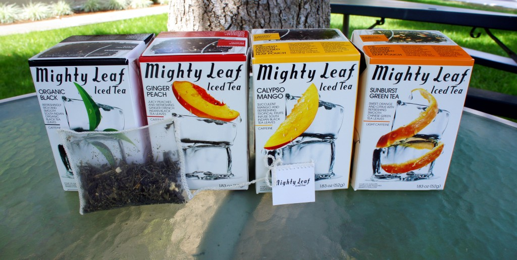 Mighty Leaf Iced Teas Review by OnceAMomAlwaysAMom.com