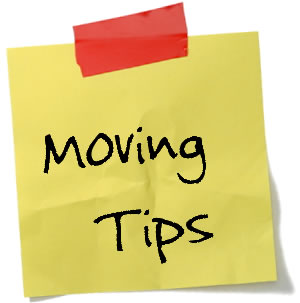 moving tips by Erin Howard - OnceAMomAlwaysAMom.com