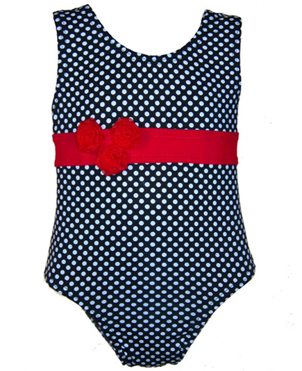one-piece bathing suit for baby through toddler girls