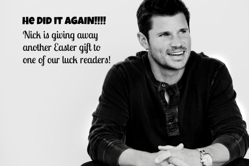 Nick Lachey & Erin Howard at OnceAMomAlwaysAMom.com Easter Giveaway!