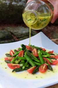 12 Festive Easter Recipes: Lemon-Tarragon Asparagus | OnceAMomAlwaysAMom.com
