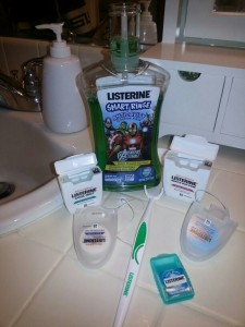 Listerine Heroic Habits - OnceAMomAlwaysAMom.com