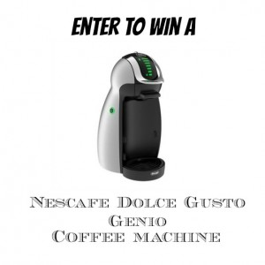 Nescafe Dolce Gusto Genio Coffee Machine Giveaway! ***Closed***